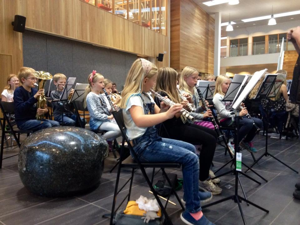 Aspirantkorpset Høvik og Lier Skolekorps 2014