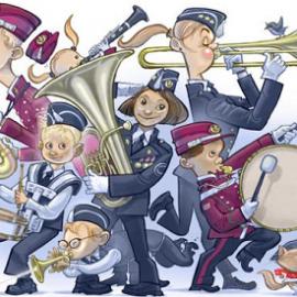Skolekonserter i nedre Lier