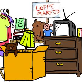 Loppemarked og mottak av lopper